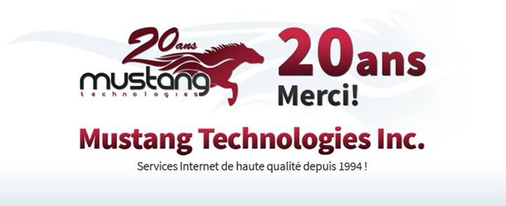 Mustang techno 20 ans